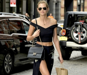 Total Black Look από τις Celebs