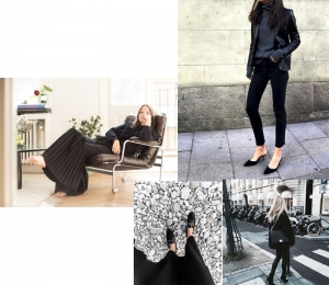 Τα Total Black Look του 2017