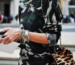 Camouflage Prints Street Style