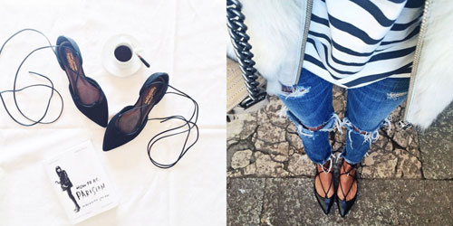 Lace up flats: πως να τα συνδυάσεις!