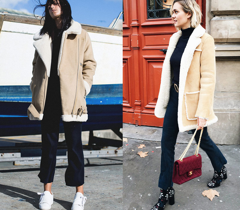 To Shearling Πανωφόρι