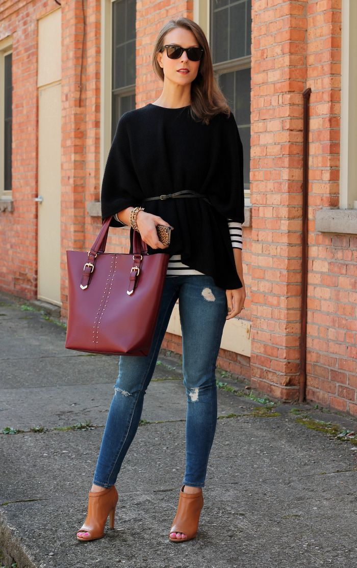 1-black-poncho-with-jeans
