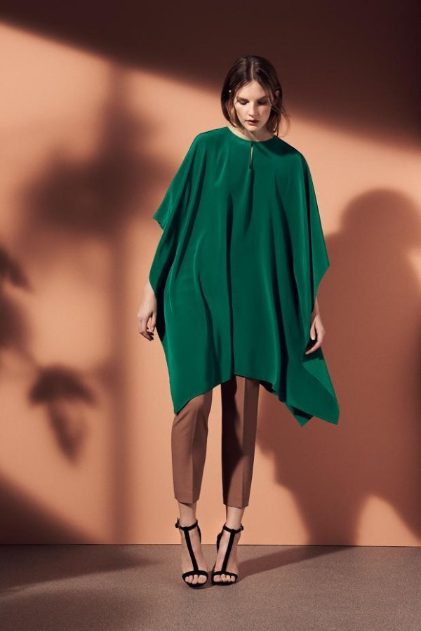 1-emerald-green-poncho-with-dressy-pants