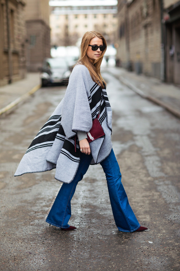 2-poncho-with-flared-jeans