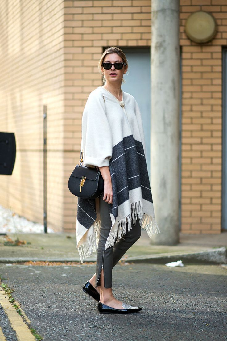 4-v-neck-poncho-with-jeans
