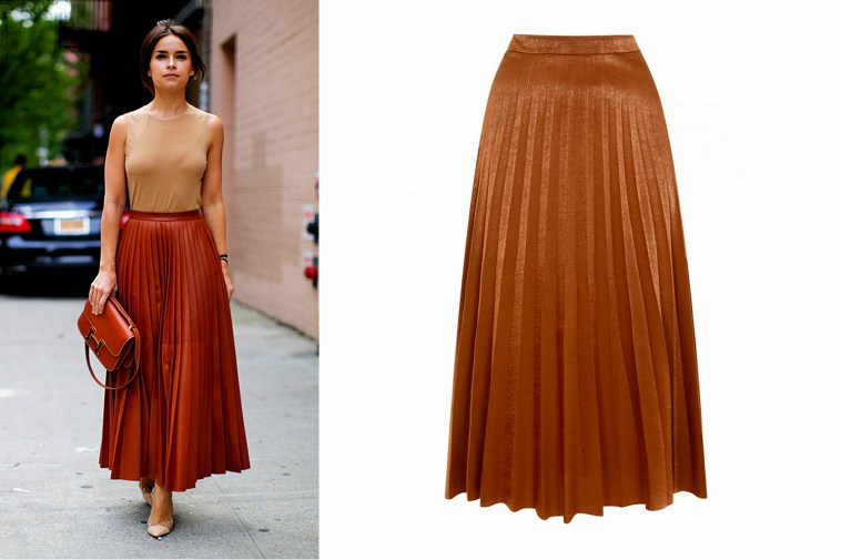 brown-pleated-skirt-png