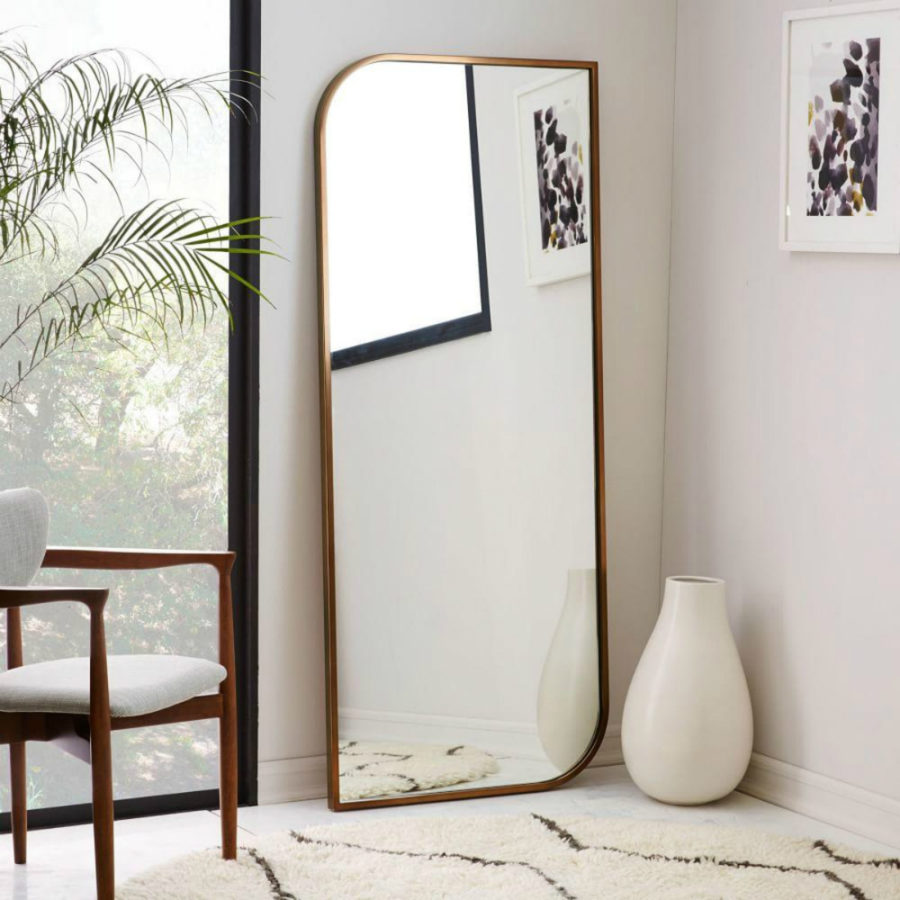 Metal-Framed-Asymmetrical-Floor-Mirror-Rose-Gold-900x900