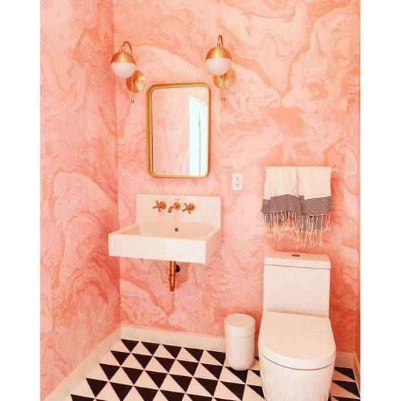 20-reasons-to-be-entirely-obsessed-with-pink-bathrooms-pink-bathroom-ideas-marble-wallpaper-5798ddc881c866970ee81fd0-w620_h800