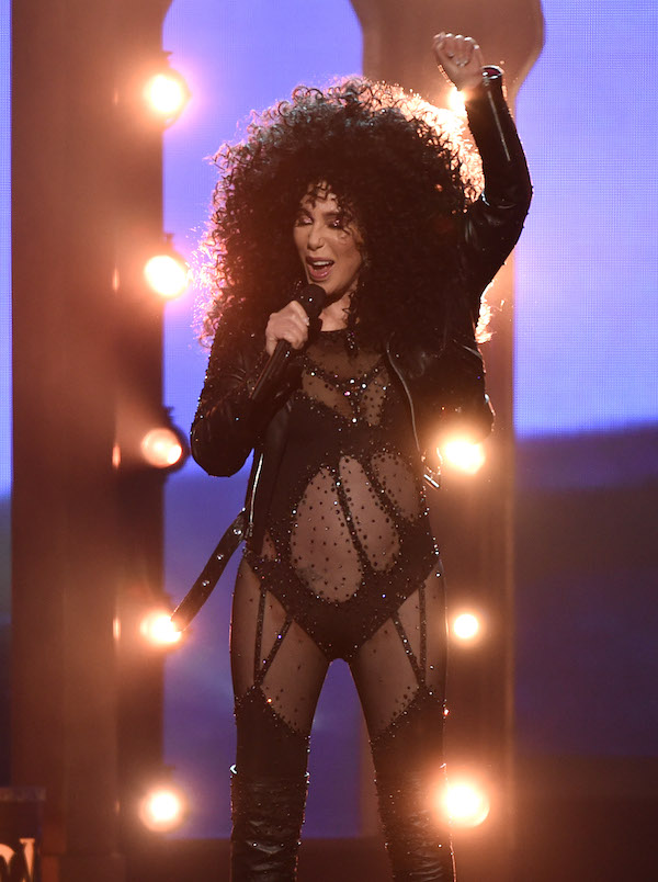 Celebrities perform on stage at the 2017 Billboard Music Awards at the T-Mobile Arena on May 21, 2017 in Las Vegas, Nevada. Pictured: Cher Ref: SPL1504988 210517 Picture by: PG / Splash News Splash News and Pictures Los Angeles:310-821-2666 New York: 212-619-2666 London: 870-934-2666 photodesk@splashnews.com