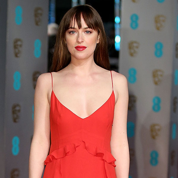 LONDON, ENGLAND - FEBRUARY 14: Dakota Johnson attends the EE British Academy Film Awards at The Royal Opera House on February 14, 2016 in London, England. (Photo by Mike Marsland/Mike Marsland/WireImage)