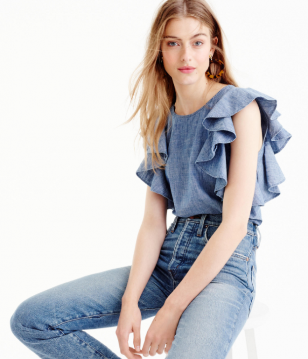 chambray-ruffle-top-624x727