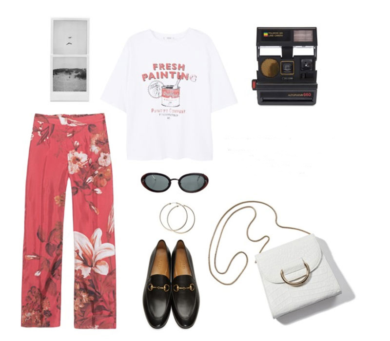 Style: Floral Παντελόνι