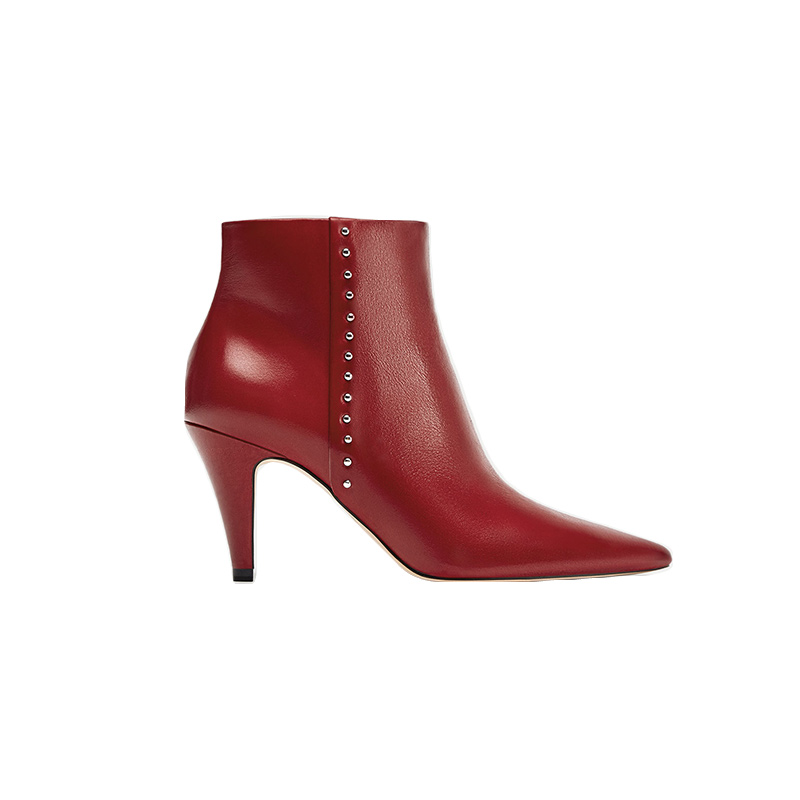 zara-high-heel-leather-ankle-boots-with-studs