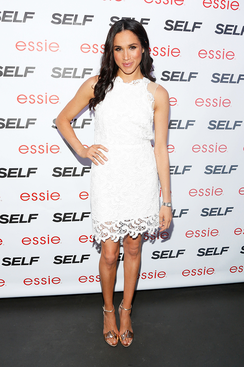 NEW YORK, NY - JULY 16:  Meghan Markle attends Self Rocks the Summer Event on July 16, 2013 in New York City.  (Photo by Cindy Ord/Getty Images for SELF Magazine)