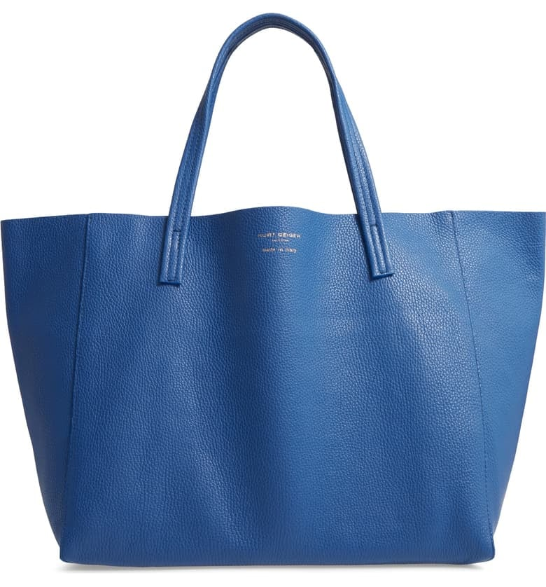 Kurt-Geiger-London-Violet-Leather-Tote